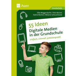 55 Ideen - Digitale Medien in der Grundschule, Buch, 1.-4. Klasse
