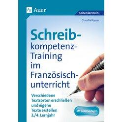 Schreibkompetenz-Training im Französischunterricht, Klasse 7-8