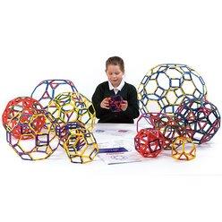 Polydron Rahmen Archimedische Körper Standart-Set 160 Teile