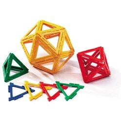 Polydron Frameworks Mengensatz gleichseitige Dreiecke 160 Teile