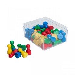 Satz Spielsteine 48 Stück