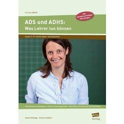 ADS und ADHS: Was Lehrer tun können, Buch inkl. CD