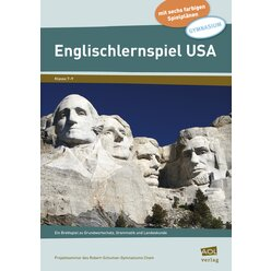 Englischlernspiel USA, 7.-9. Klasse