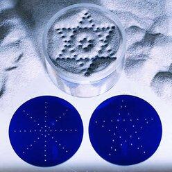 Sand- u. Ornamentscheibenspiel Ø 8x5