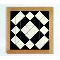 Magisches Mosaik schwarz-weiß, Einzelpackung
