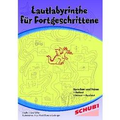 Lautlabyrinthe für Fortgeschrittene, Kopiervorlagen, 4-7 Jahre