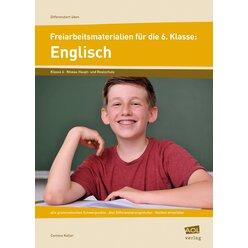 Freiarbeitsmaterialien für die 6. Klasse: Englisch