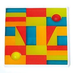 Lumi-Lichtbausteine 5 kräftige Farben in Box