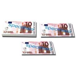 Geld 100 Stück Euro-Scheine Spielgeld zu 10 Euro