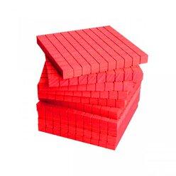 Dienes Hunderterplatte ReWOOD rot