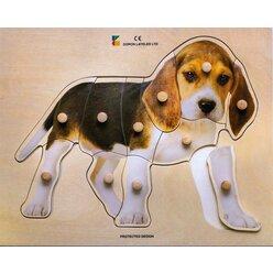 Holz-Puzzle Hund, ab 2 Jahre