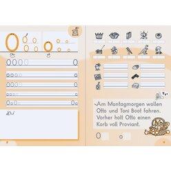 Anton und Zora:  Schreiblehrgang - Druckschrift, 6-9 Jahre