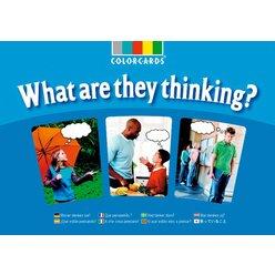 ColorCards Was denken sie? Fotokarten A4 mit CD-ROM