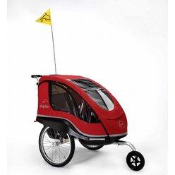 Winther® Dolphin XL Rot, Fahrradanhänger und Kinderwagen (8985170)