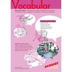 Vocabular Wortschatz-Bilder - Spielzeug, Sport, Freizeit, Hobbies, 3-99 Jahre