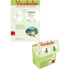 Vocabular Wortschatz-Bilder KOMBIPAKET - Tiere, Pflanzen Natur, 3-99 Jahre