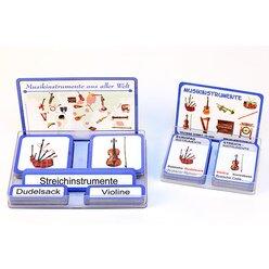 Musikinstrumente aus aller Welt, Kartensatz, 4-11 Jahre