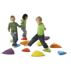 Gonge® Fluss-Steine, 6er Set, farblich sortiert