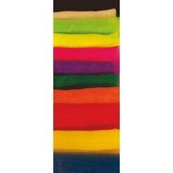 Jongliertücher schwarz, chiffon, 68 x 68 cm, 12er-Pack