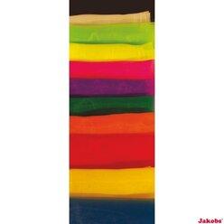 Jongliertücher pink, chiffon, 68 x 68 cm, 12er-Pack