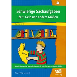 Schwierige Sachaufgaben, Selbstlern-Heft, 4.-6. Klasse
