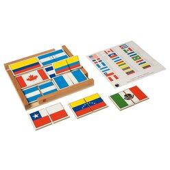 Fahnenpuzzle Nord- und Südamerika