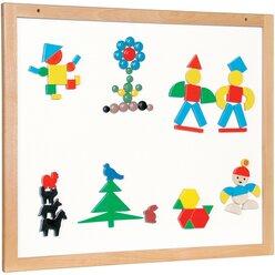 Magnetische Wandtafel 60 x 100 cm