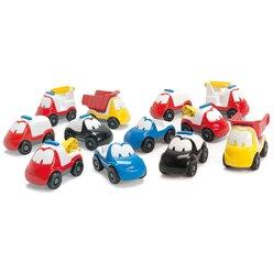 dantoy® Sandspielzeug, Fun Cars, 12er Set