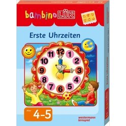 bambinoLÜK Set Erste Uhrzeiten,  4-5 Jahre