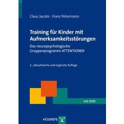 Training für Kinder mit Aufmerksamkeitsstörungen, Buch inkl. DVD-ROM