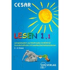 CESAR Lesen 1.1 Netzwerklizenz für die 2.-4. Klasse