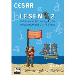 CESAR Lesen 2  - Netzwerklizenz, CD-ROM