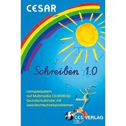 CESAR Schreiben 1.0 Schullizenz für die 2.-4. Klasse, CD-ROM