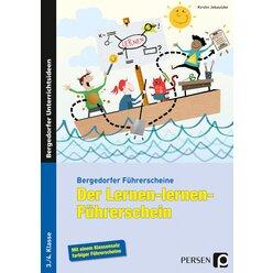Der Lernen-lernen-Führerschein, Broschüre, 3.-4. Klasse