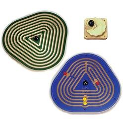 Wandkreiselset Triangel/Labyrinth mit Wandhalterung