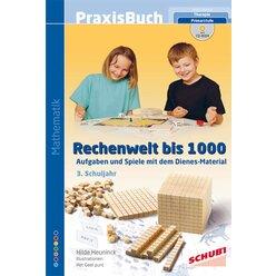 Praxisbuch Rechenwelt bis 1000, Buch inkl. CD-ROM, 3. Klasse