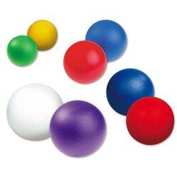 Softball, beschichtet, 18 cm, rot, 140 g