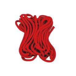Satz mit 5 Springseilen, rot,  300 cm lang, ab 4 Jahre