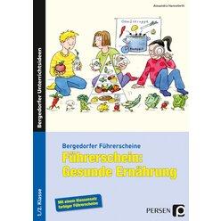 Führerschein: Gesunde Ernährung, Broschüre, 1.-2. Klasse