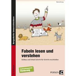 Fabeln lesen und verstehen, Buch, 5.-9. Klasse