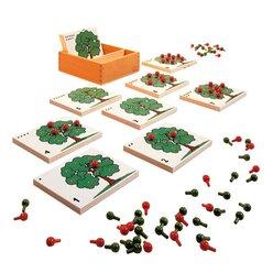 Apfelbaum Zählspiel, ab 3 Jahre