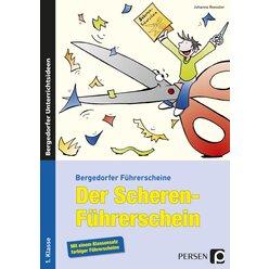 Der Scheren-Führerschein, Broschüre, 1. Klasse
