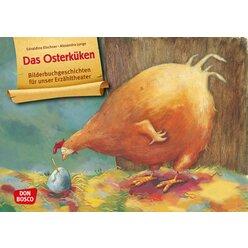 Kamishibai Bildkartenset - Das Osterküken, ab 3 Jahre