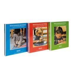 Montessori-Materialbücher 1-3