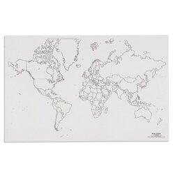 Weltkarte - Politik