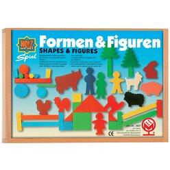 Juniors Formen und Figuren, Legespiel, ab 3 Jahre