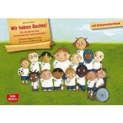Kamishibai Bildkartenset - Wir haben Rechte! Die Kinderrechte kennenlernen und verstehen, ab 5 Jahre