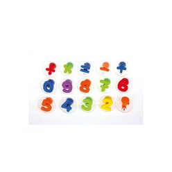 Riesen-Zahlen-Stempel 15 Stück