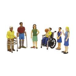 Menschen mit Handicap, Figuren-Set , ab 3 Jahre