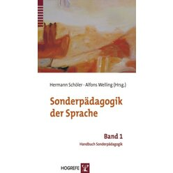 Sonderpädagogik der Sprache, Buch